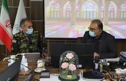 تامین تجهیزات فردی کادر درمان ارتش فارس در سیستان و بلوچستان