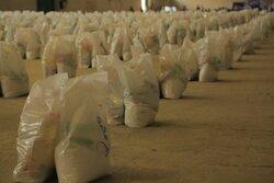 ۲۰۰ بسته معیشتی در سیرجان توزیع شد / خرید ۱۴ کپسول اکسیژن