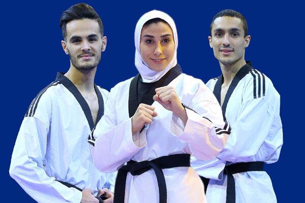 برنامه روز دوم تکواندوکاران ایران/ ایتالیا و تایلند طلا گرفتند