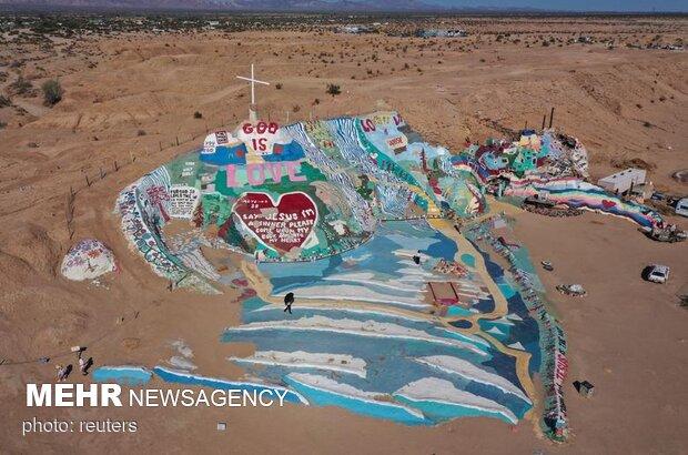تصاویری از خشکسالی بیسابقه در آمریکا