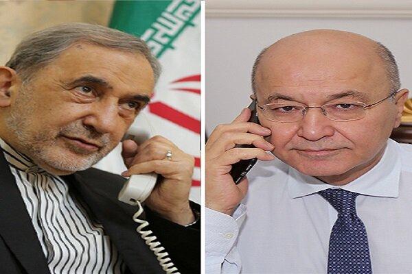 Tehran, Baghdad confer on regional developments, mutual ties