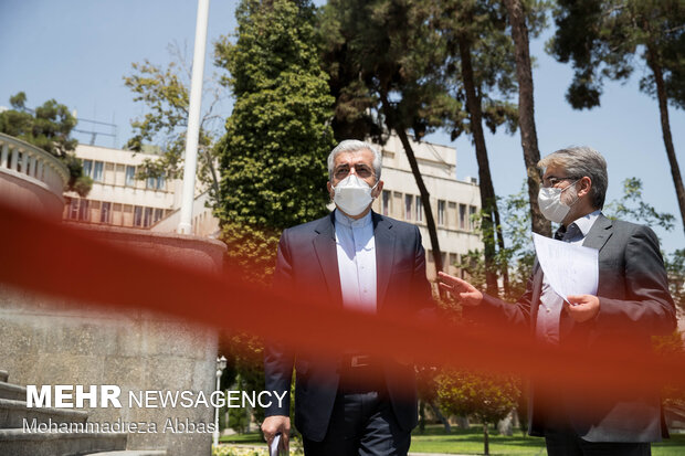Sidelines of Iranian Cabinet meeting