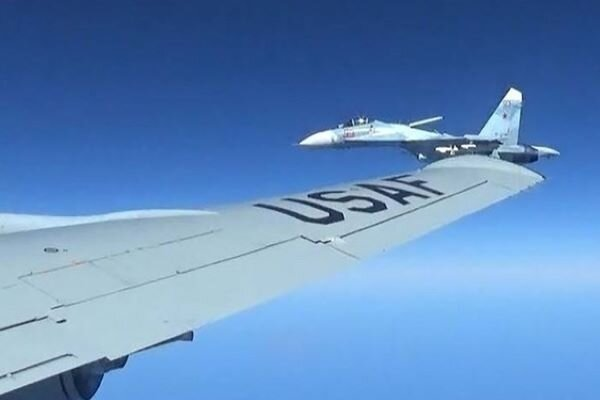 Russian fighter jets intercept US Boeing P-8 over Black Sea