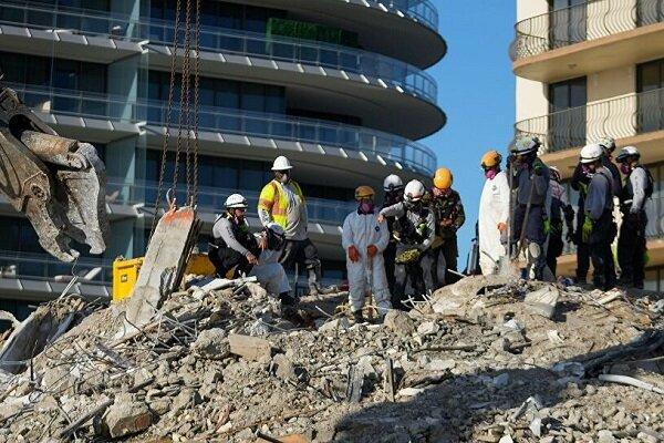 Miami'de çöken binada ölü sayısı 98'e yükseldi