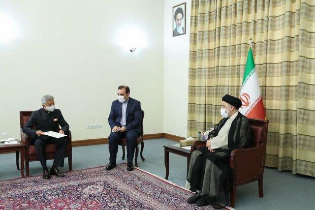 Raeisi, India FM discuss bilateral relations, Afghanistan