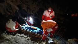 سقوط کامیون به دره در گلستان/ ۲ نفر مصدوم شدند