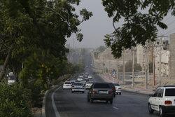 وقوع تندباد لحظهای توام با گردوخاک در اصفهان