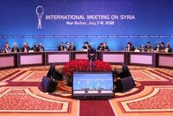 Iran names Syria decision-maker as Astana meeting wraps up