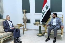 رایزنی محمد الحلبوسی با سفیر آمریکا در بغداد