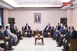 Iranian delegation hold meetings with senior Syrian officials