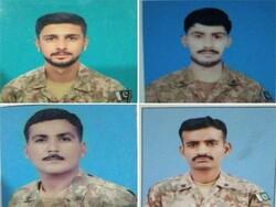 جنوبی وزیرستان میں وہابی دہشت گردوں کی فائرنگ سے 4 پاکستانی فوجی جاں بحق