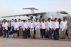 ۲۰۰ نفر از کادر درمانی سپاه وارد زاهدان شدند