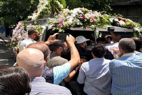 تشييع المناضل الفلسطيني أحمد جبريل في دمشق
