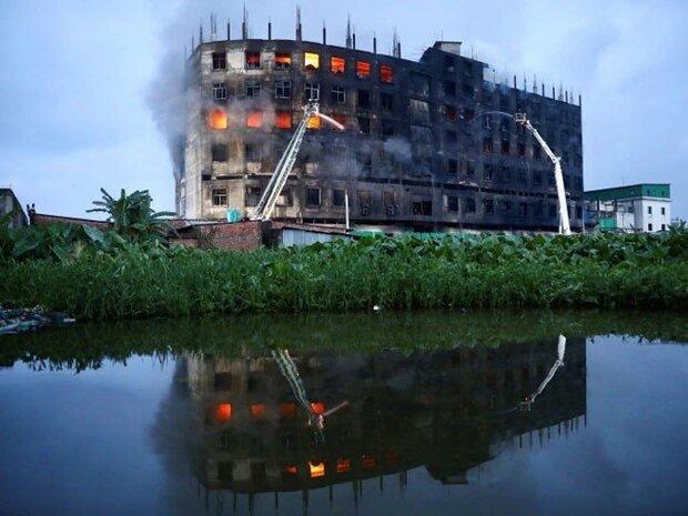 بنگلہ دیش کی ایک فیکٹری میں آگ لگنے سے 52 افراد ہلاک