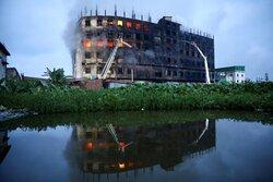 آتش سوزی مرگبار در کارخانه تولید موادغذایی بنگلادش
