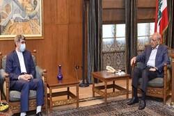 Iran, Lebanon discuss latest regional developments