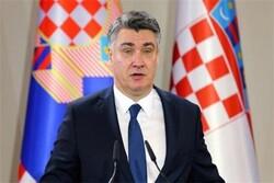 الرئيس الكرواتي يهنئ الرئيس الايراني المنتخب