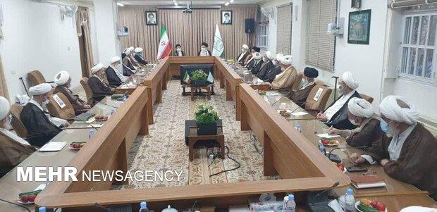 President-elect meets Society of Seminary Teachers of Qom