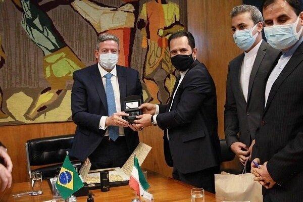 Iran, Brazil discuss bilateral trade, economic relations