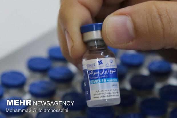 ۱۰ هزار دز واکسن کوو ایران برکت در زاهدان تزریق شد