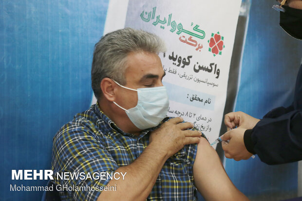 تزریق واکسن علیه کرونا به افراد بالای ۶۷ سال در شیراز آغاز شد