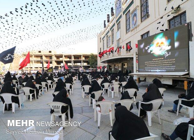 اجتماع عزاداران حضرت جواد الائمه (ع) در مشهد