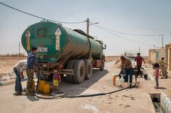 درخواست رانندگان تانکرهای آب ازمتولیان/سهم آب شرب خانگی بیشتر شود