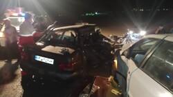 انحراف به چپ خودروی پژو دلیل تصادف محور اردستان - اصفهان اعلام شد