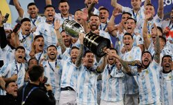 Argentina ends 28-year title drought