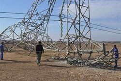 Power towers in Ninawa attacked by ISIL terrorists