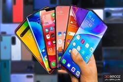 ۱۰ گوشی پرطرفدار و پرفروش در بازار موبایل ایران