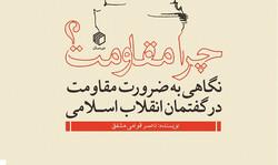 انتشار کتاب «چرا مقاومت» توسط فعال رسانه همدانی