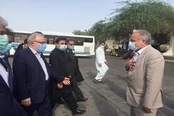 وزیر بهداشت به سیستان و بلوچستان سفر کرد
