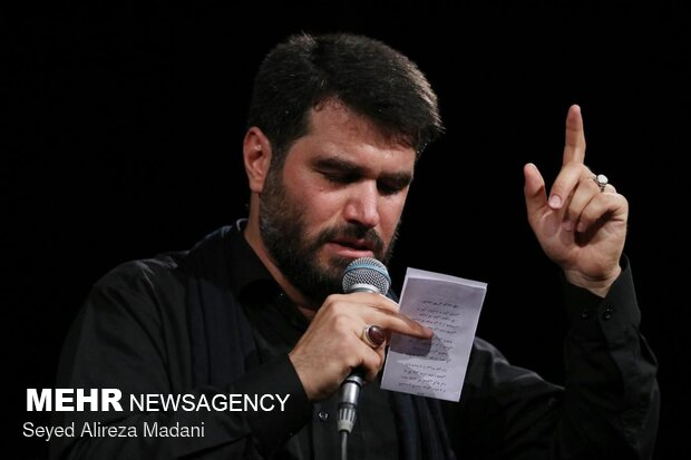 مراسم إحياء ذكرى استشهاد الامام جواد (ع) في مرقد قاضي صابر