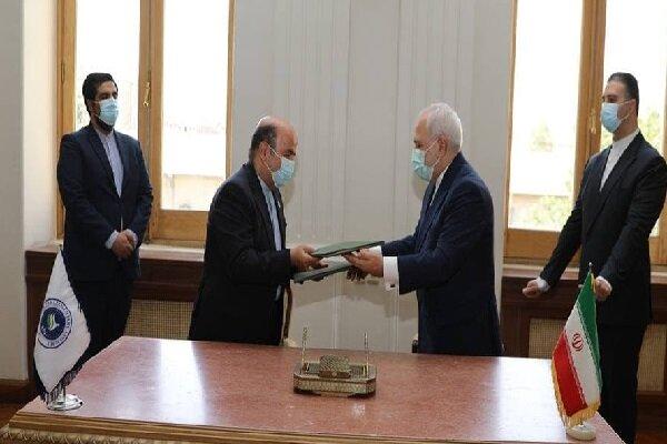 ايران توقع اتفاقية مع جمعية البرلمانات الاسيوية