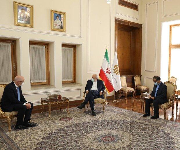 3 outgoing European envoys bid farewell to FM Zarif