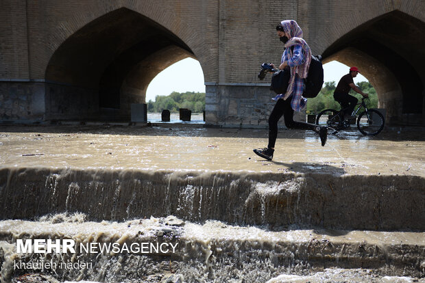 İsfahan kentinde sevindiren gelişme