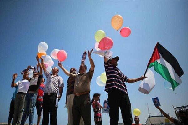 Gazzeliler İsrail'in Filistinli balıkçılara yönelik ihlallerini protesto etti