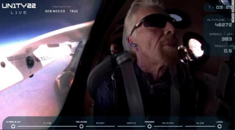 پرواز آزمایشی ویرجین گالاکتیک ممنوع شد