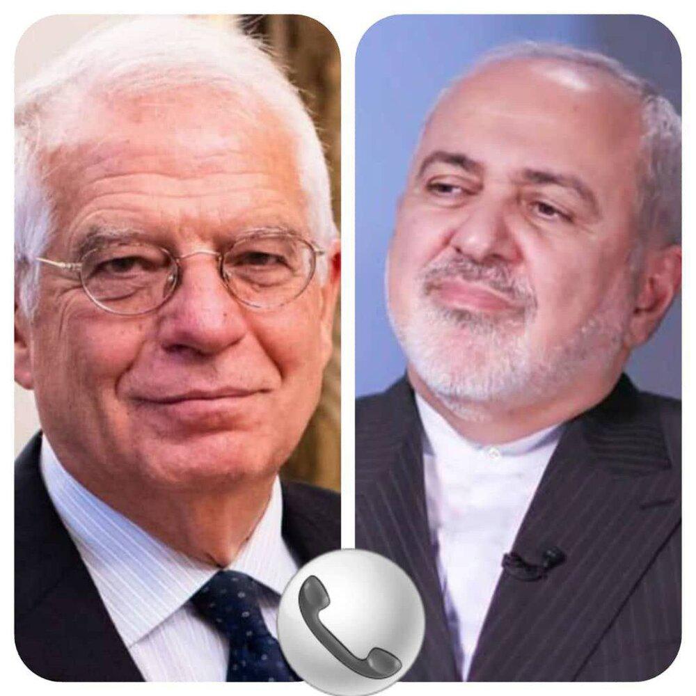 تماس تلفنی ظریف با «بورل» درباره اظهارات نخستوزیر اسلوونی