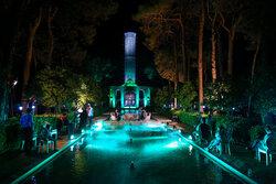 پشت صحنه «شب فیروزهای» در باغ جهانی دولت آباد یزد