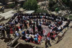 Traditional wedding ceremony in Sar Agha Seyed village