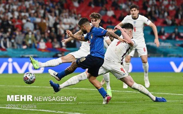EURO 2020'nın final maçından kareler