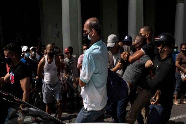 پشت پرده حمایت آمریکا از اعتراضات کوبا در مستند «۱۰ دقیقه»