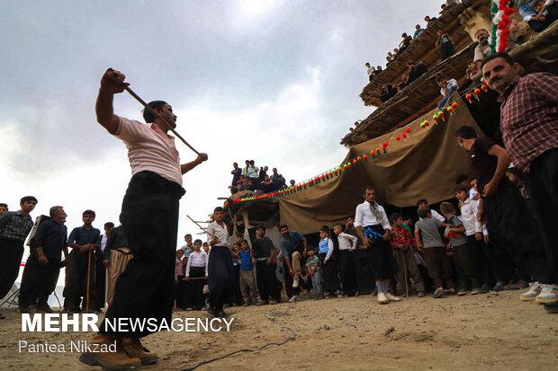 مراسم عروسی در روستای سرآقا سید