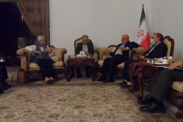 İran'ın Bağdat Büyükelçisi BM Irak Özel Temsilcisi ile görüştü