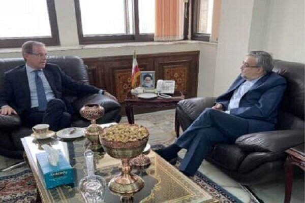 Iran envoy to UAE meets with Italian amb. to discuss ties