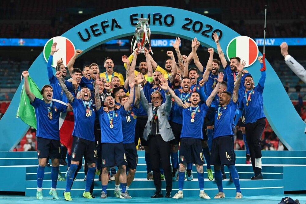 قهرمانی ایتالیا در ویمبلی/دستان انگلیس باز هم به جام نرسید
