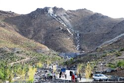 افتتاح بزرگترین آبشار مصنوعی کشور