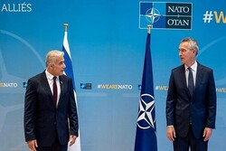NATO chief makes anti-Iranian remarks in meeting with Lapid